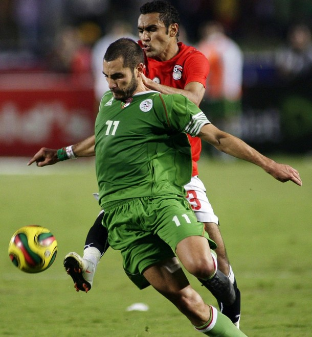 Mourad meghni | Algeria National Team vs Egypte
